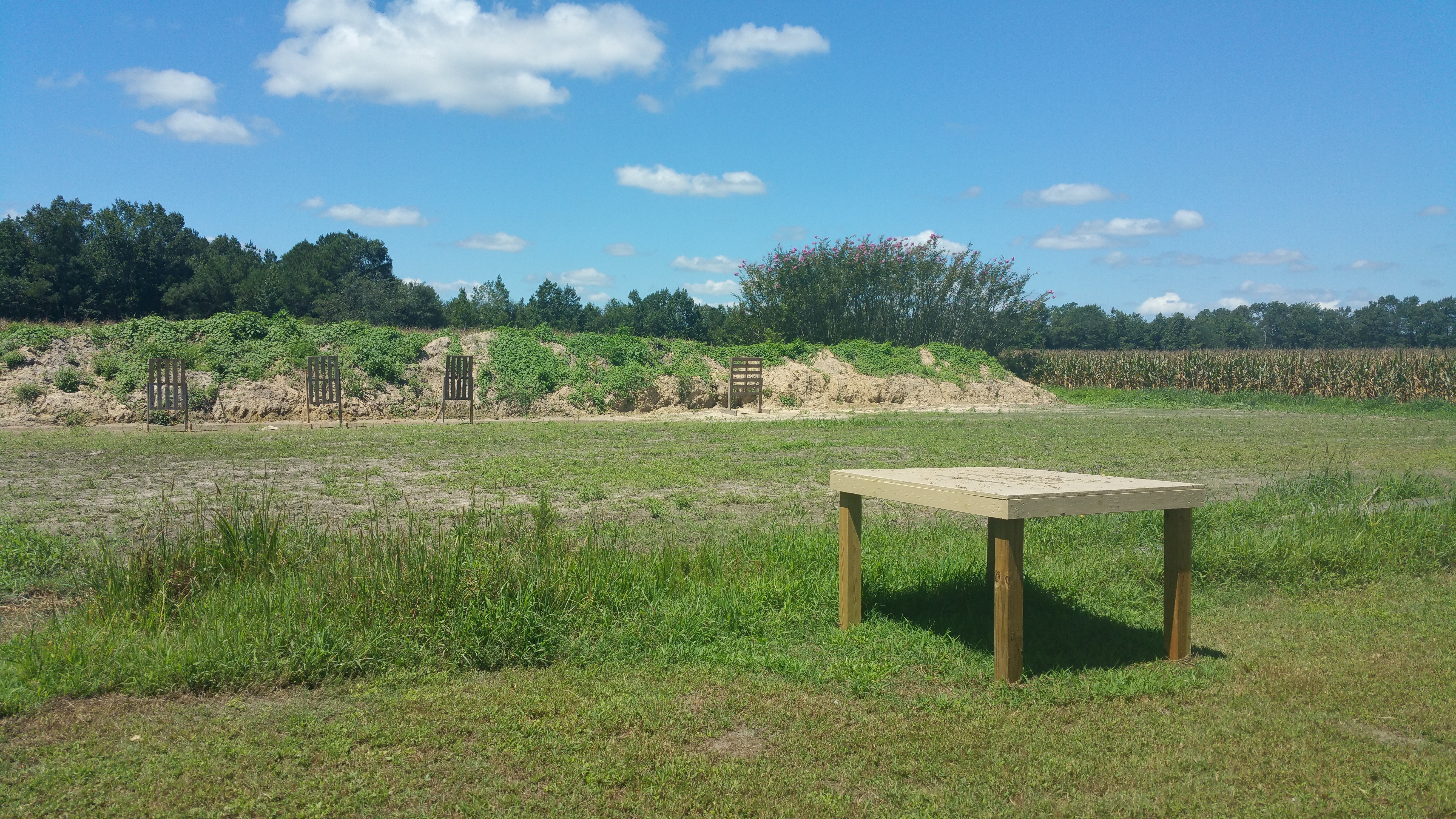 Pistol Range Open!